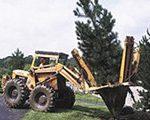 带土球挖树机
